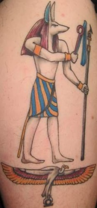 ancient egyptian tattoo art